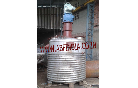 resin manufacturing vessel